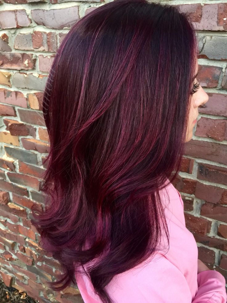 Black Cherry Cola Hair Color Hairstylegalleries Com