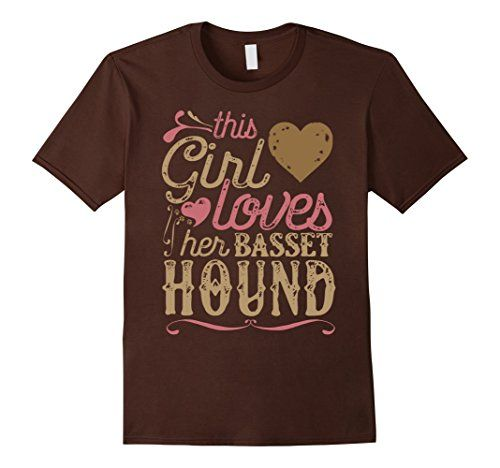 Basset Hound Shirt - This Girl Loves Her Basset Hound Gift. Agreed? Dog, dogs, dogs breeds, dogs funny, dogs training, dogs sweater, cutest dogs, dogs stuff, dogs ideas, dogs and puppies, cute puppies, Basset Hound shirt, Basset Hound tshirt, Basset Hound clothes, Basset Hound mug, Basset Hound, Basset Hounds, #roninshirts