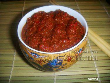 тайский красный соус
