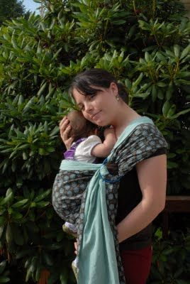 Life More Simply: How to Make A Ring Sling