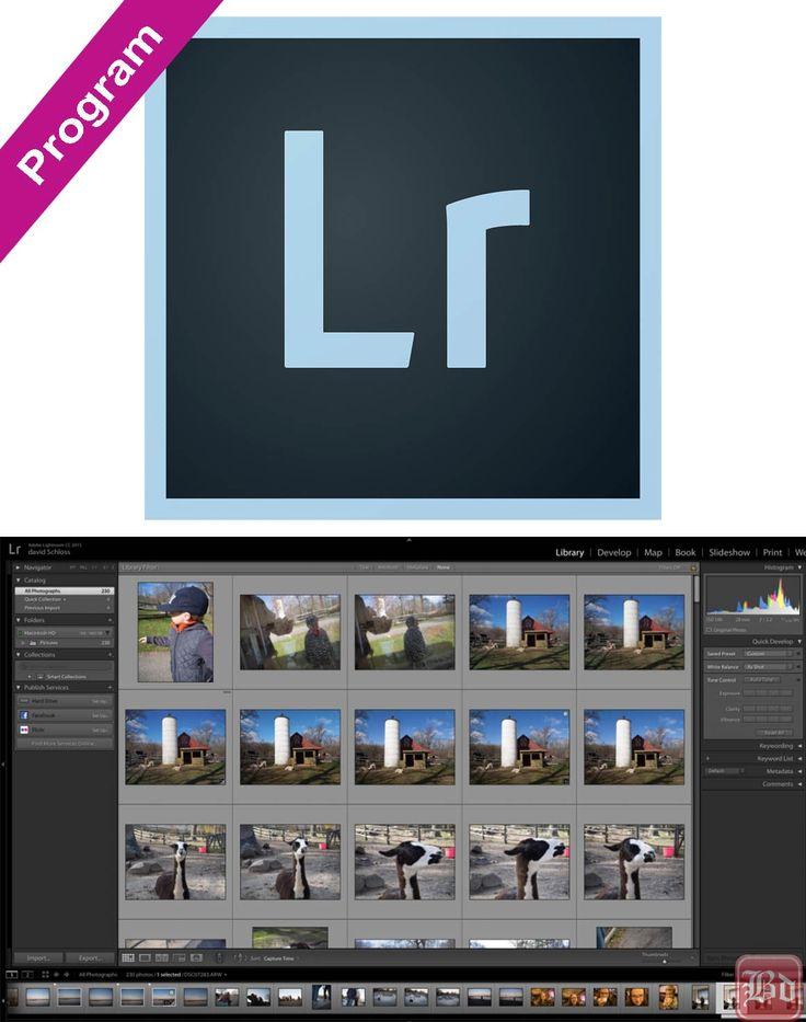 Adobe Photoshop Lightroom CC v6.3 Katılımsız