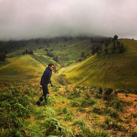 Teletubbies Hill in East Java...