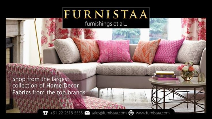 Largest Collection of Home Decor Fabrics :: Furnitaa