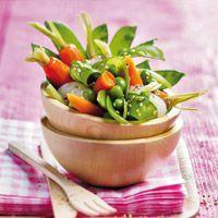 Découvrez la recette Salade Verdurette sur cuisineactuelle.fr.