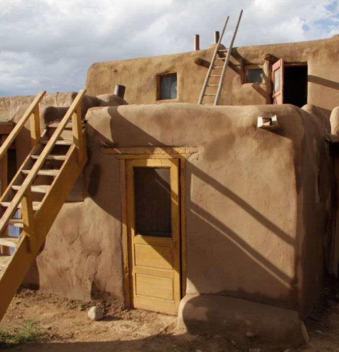 The Taos Pueblo has an 800-year tradition and was my favorite stop on our trip through the Southwest.