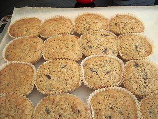 Makronmuffins med chokolade……….