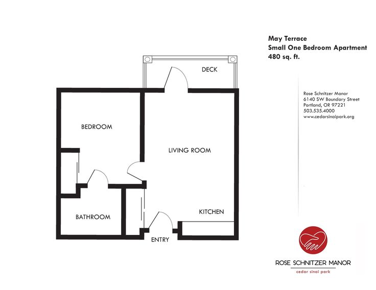 Small Apartment Floor Plans One Bedroom