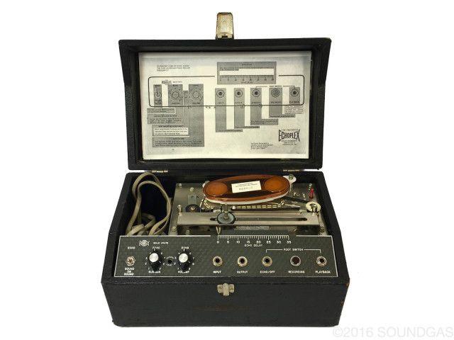 Maestro Echoplex Ep 3 Solid State Reverb Tape Tom Verlaine Vintage