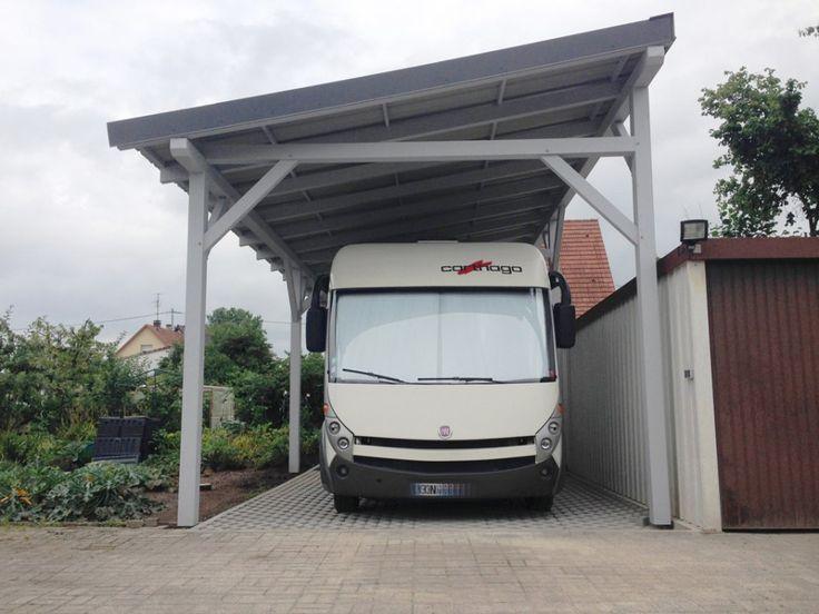 Abri camping car monopente