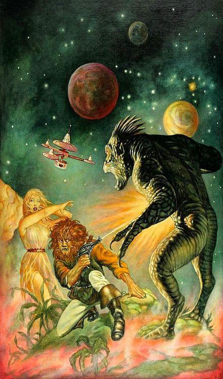"translucentmind: ""Science Fiction illustration // Marcus Boas """