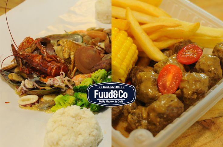 Fuud & Co, Ayer Keroh, Melaka Sediakan Makanan Laut Dan Barat Di Bawah Satu Bumbung