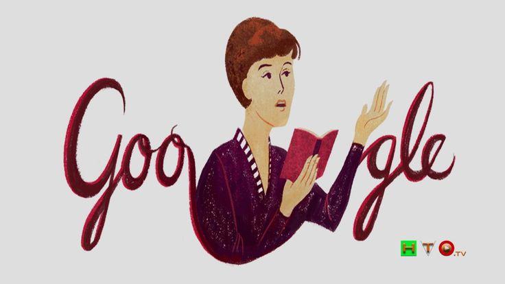 Doodle di Google per l'80° anniversario della nascita di Bella Akhmaduli...