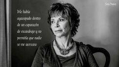 """""""Me había agazapado dentro de un corazón de escarabajo y no permitía que nadie se me acercara""""   Frase de El Cuaderno de Maya - Isabel Allende"""
