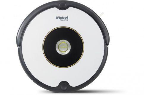 """Az iRobot Roomba 605-as egy alap felszereltségű, megbízható, egyszerűen kezelhető és  kiváló teljesítményt nyújtó okos kis robotporszívó az iRobot takarító robotok világában.  Nem kell mást tennie, csak a """"Clean"""" gomb megnyomásával útjára engedni,  hogy önállóan végezhesse feladatát."""