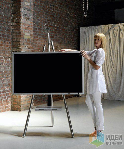 Подставка для телевизора, напоминающая мольберт, Wissmann raumobjekte