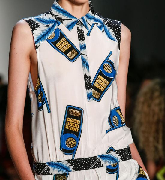 Detail of the Day - Suno Cell Phone: Fashion Heavens, Suno Crop, Fashion Mirror, Suno S S, Palms Prints, Cell Phones, Ss13, Suno Cell, Suno Favorite