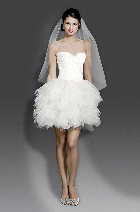 223 best images about short wedding dresses on pinterest for Cute dresses to wear to a fall wedding