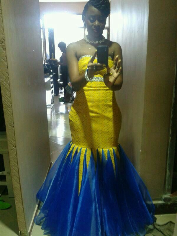 Stunning bride to be #africandfashion