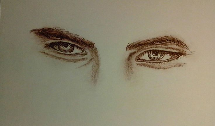 #drawing #sepia #eyes