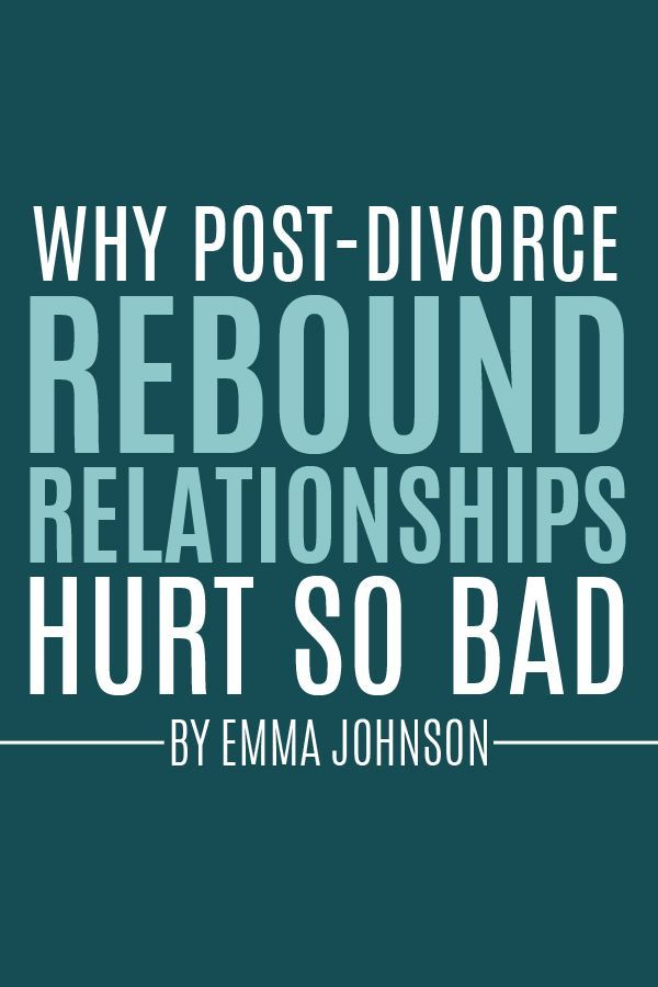 dating after divorce rebound relationship