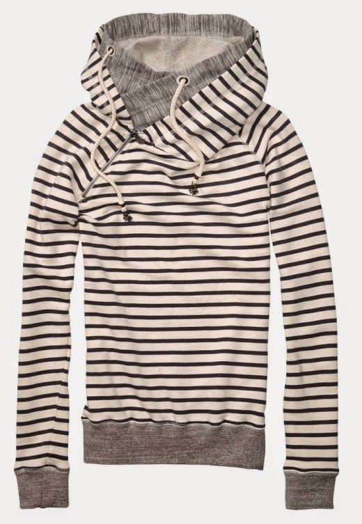 See more Comfy Home Alone Stripes Hoodie