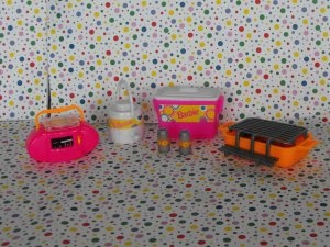 #Barbie #Dollhouse #Beach #Picnic #Pool Playset Parts Lot #Christmas #Gifts #teamsellit