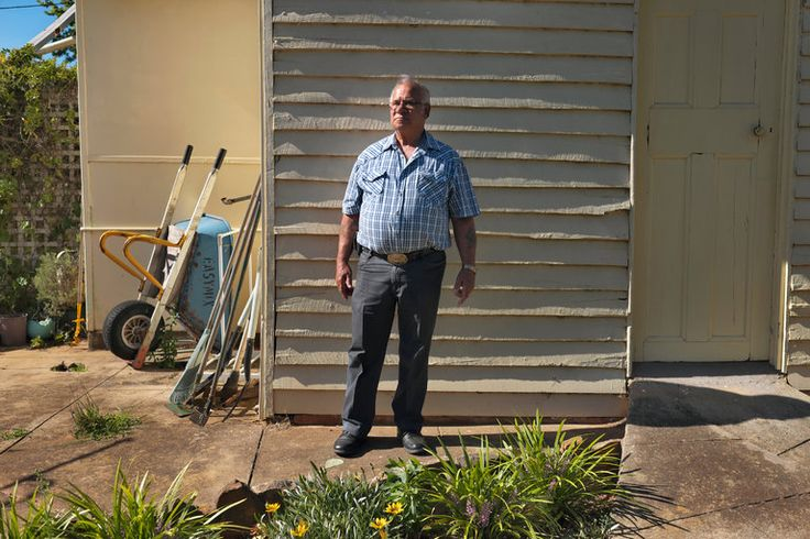 """Stan Grant, a Wiradjuri elder, at his home in Narrandera, Australia. Mr. Grant was an author of """"A New Wiradjuri Dictionary,"""" after years of advocating to preserve the Wiradjuri language.  An Heir to a Tribe's Culture Ensures Its Language Is Not Forgotten - The New York Times"""
