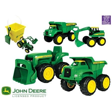 John Deere Ultimate Sand Pit Gift Pack