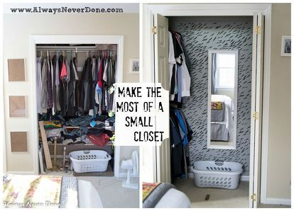 make the most out of a small closet entry ways bedroom 17184 | 677699d370f0104cc95532e909822800