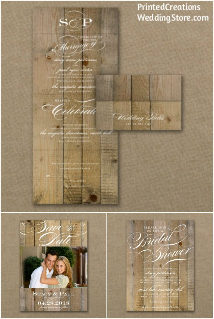 97 best barn wedding theme images on pinterest barn wedding vintage woodgrain love seal n send wedding invitation is perfect for todays woodsy or rustic monicamarmolfo Image collections