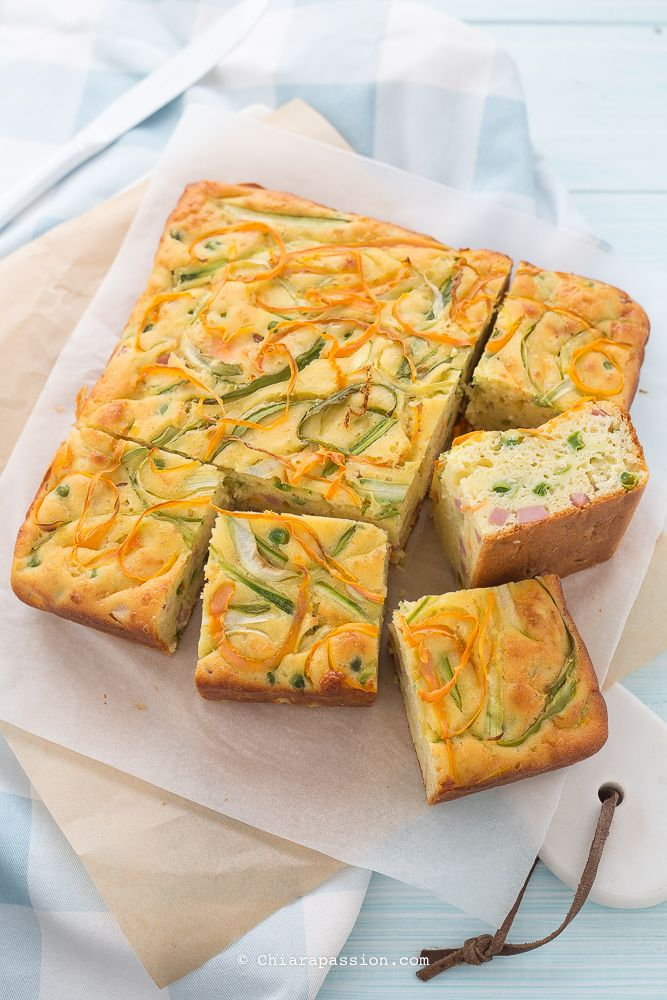Torta 7 vasetti salata - Torta allo yogurt con verdure - Chiarapassion