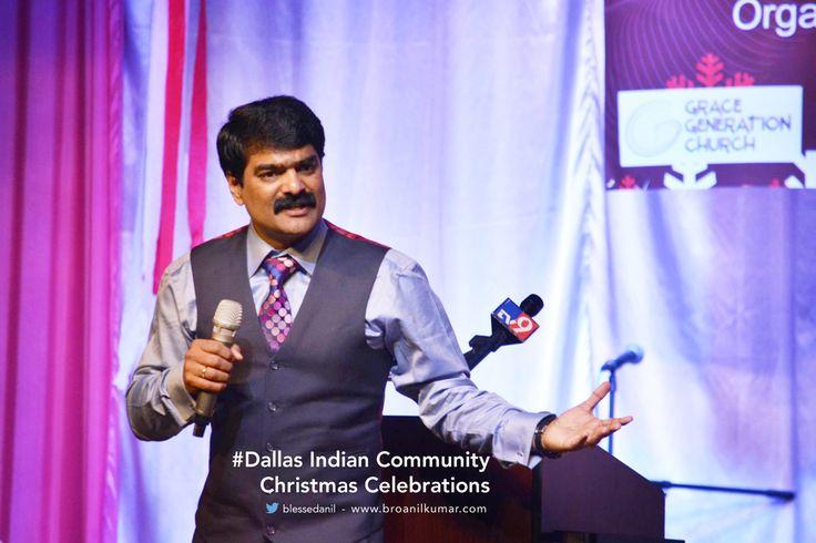 Dallas Indian Community Christmas Celebrations with Bro. Anil Kumar