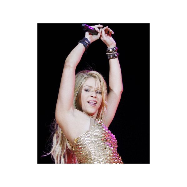 Shakira Photo ($20) ❤ liked on Polyvore featuring home, home decor, wall art, photo wall art and photo poster