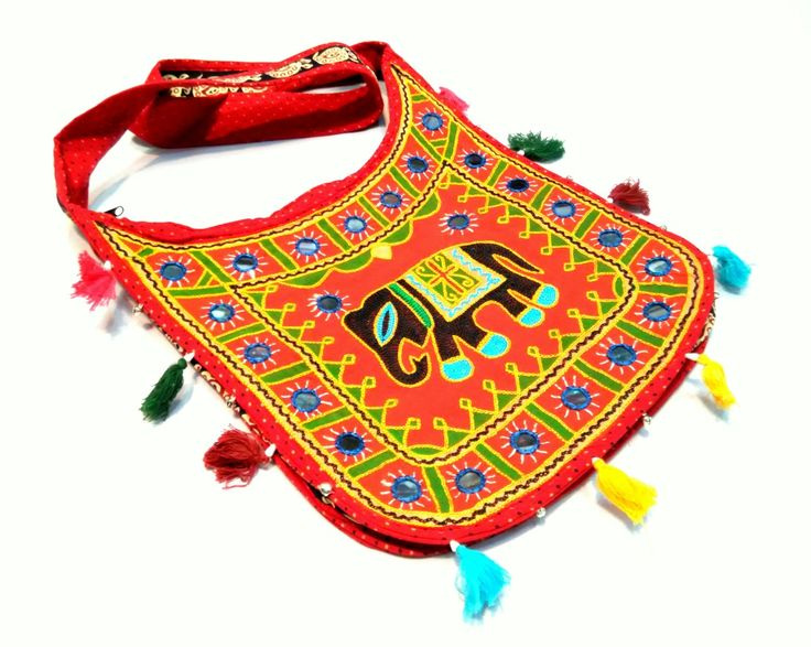 Beautiful Traditionally Designed Rajasthani Bags from the land of Maharajas - Rajasthan. These handmade bags have been beautifully crafted with embroidery and thread work. Material: Cotton. Shipping will be done within 24-48 hours from placing the order. Delivery time: 4-6 working days.