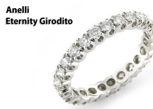 Anelli Eternity Girodito Diamanti