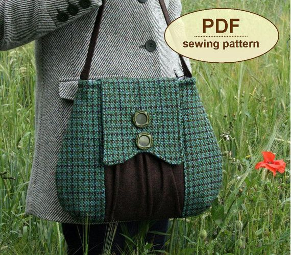 Sewing pattern to make The Poacher's Bag  PDF by charliesaunt, $8.00
