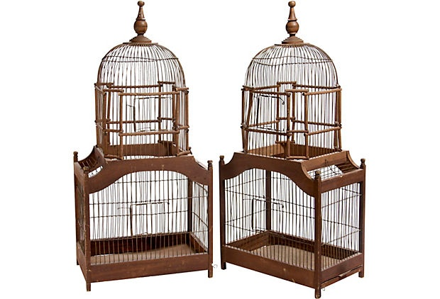 I love Victorian style birdhouses.
