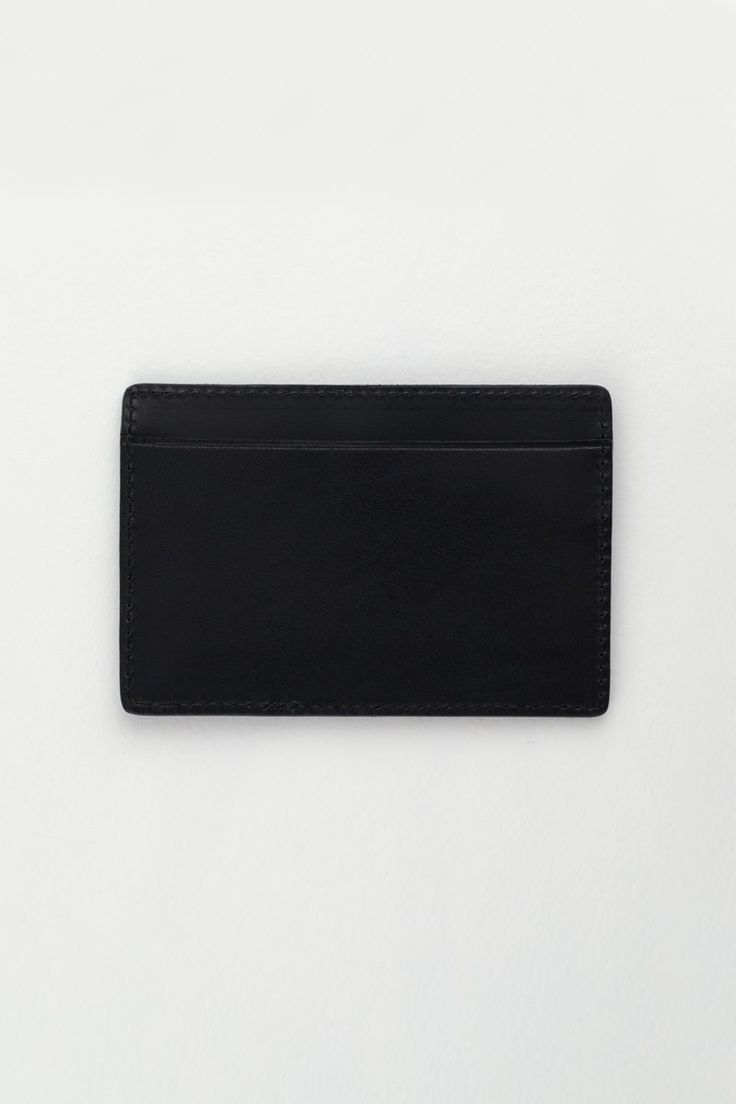 Leather Card Holder | Atelier Black | Made by Bodhi
