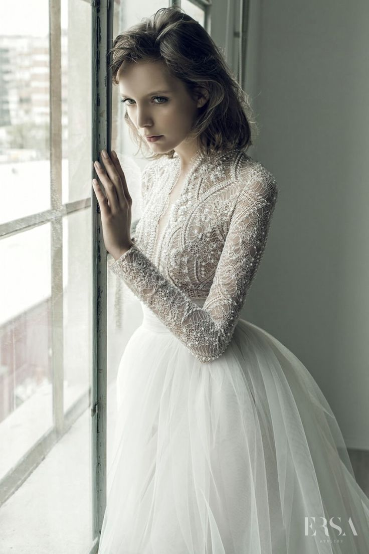 Ersa Atelier - Wedding Collection- Evening dress Dotterine
