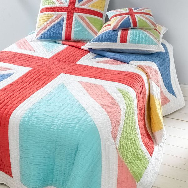 Sweet Home London — Happy Jack Bedspread - would so love to buy this - for my friends son Jack!: Jack Quilts, Jack Bedspreads, American Quilts, Country Stores, Jack O'Connel, Happy Jack, Bedrooms Dreams, London England, Union Jack
