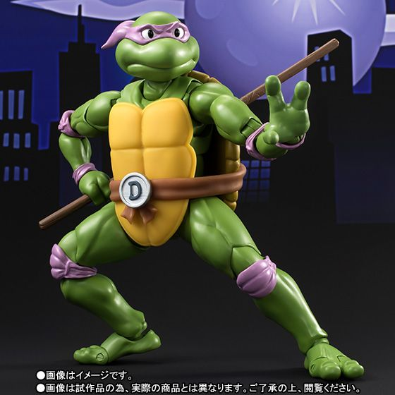 These Teenage Mutant Ninja Turtles Figures Look Like They've Stepped Right Out of the Cartoon