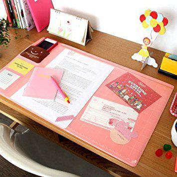 Amazon | デスクマット 記用具【スマイルデスクマット】(Cherry pink ... デスクマット 記用具【スマイルデスクマット】(Cherry pink) 男の子 女の子 学習