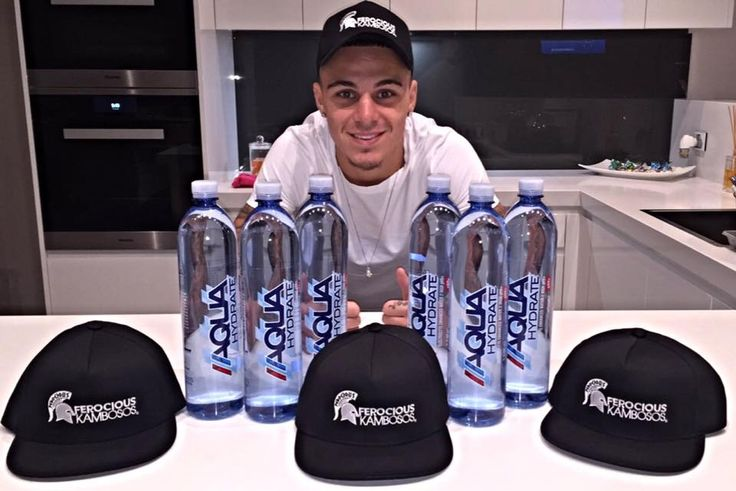 Fully Stocked Up With My Aqua Hydrate for Post Weigh In and Fight Night, When Your At The Elite Level You Need To Put The Best Into Your Body, Grabs Yours Today From All Priceline Chemist. My New Ferocious SnapBack Hats Are Out Aswell Limited Stock So First In Gets There's for $30 @aquahydrate @iamdiddy #aquahydrate
