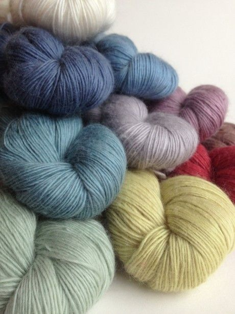 Quince & Co. Piper - All the Colours.  Loop, London. www. loopknitlounge. com