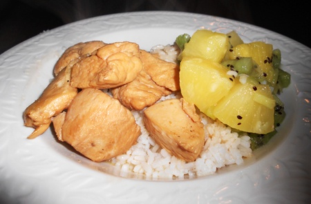 Hawaiian Chicken and Rice