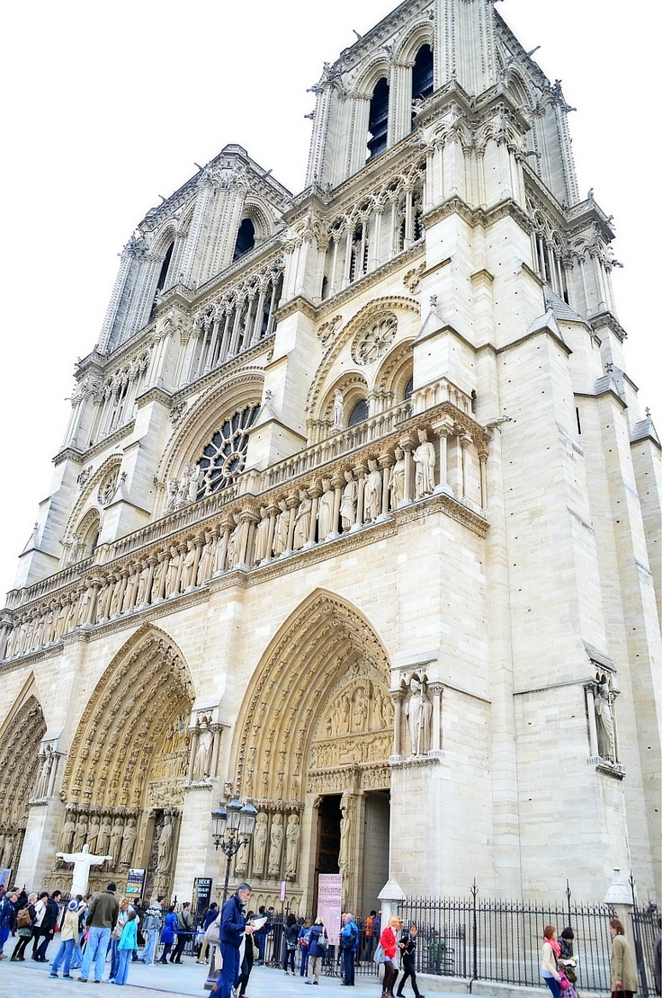 Cathedral De Notra Dame, Paris in France.