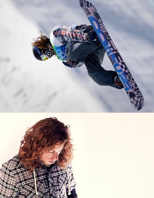 Shaun White Respects Gravity & than defies it . DOOD, I can write U love letters all day long