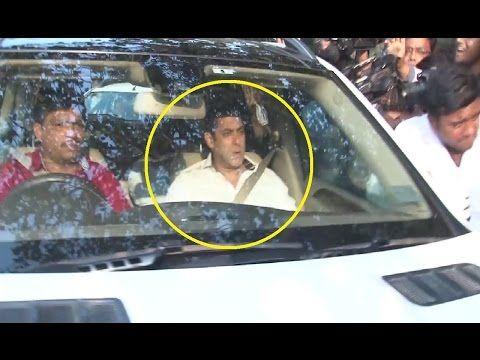 Salman Khan back to home after arms case verdict.