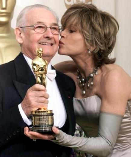 "Andrzej Wajda - Polish film director, recipient of many international awards, among them ""The Golden Palm"" at the Cannes and a Hollywood Academy Award, the Oscar for the entirety of his work."