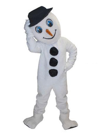 Sneeuwpoppen mascotte deluxe  Sneeuwpop mascotte deluxe. Een mooie levensechte sneeuwpop mascotte van zeer luxe stof. De sneeuwpop mascotte deluxe heeft een ingebouwde luchtcirculatiesysteem en de kop zit los op het lichaam.  EUR 1195.00  Meer informatie